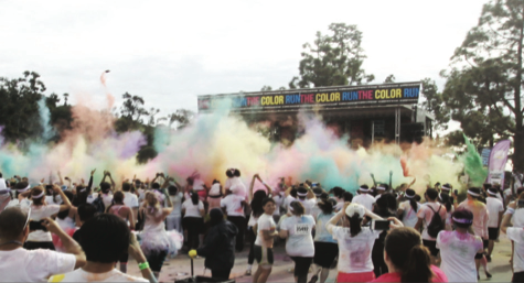 CHS students participate in Color Run