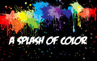 splash of colors