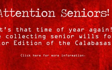 Attention Seniors! Time for Senior Wills!