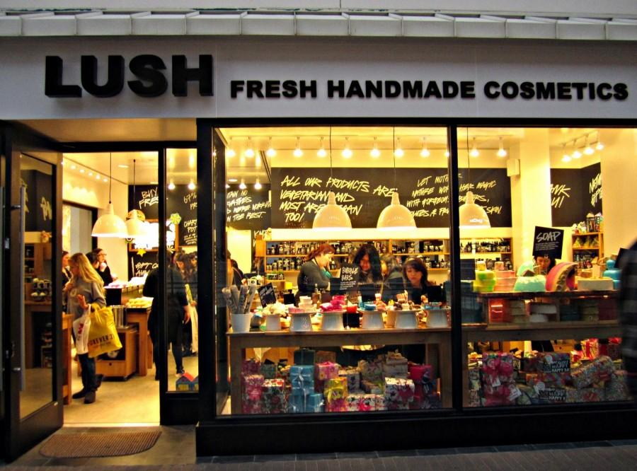 Lush Store Fashion Valley