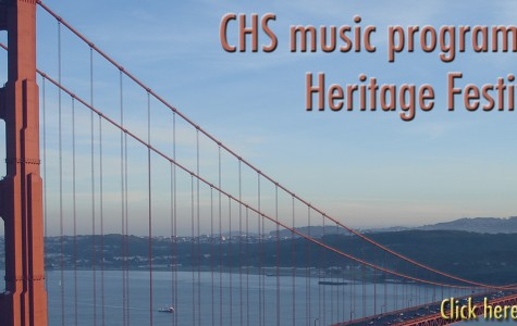 CHS music program performs at the Heritage Festival of Gold