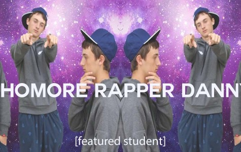 Sophomore Danny Salvay shares his rapping skill on the Internet
