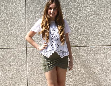 Check out the latest spring fashion trends set by these fashion fanatics: Sophie Lieber