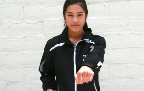 Tabitha Gruendyke practices martial arts
