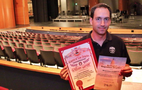 CHS educator Bill Garrett honored with L.A. County Teacher of the Year award