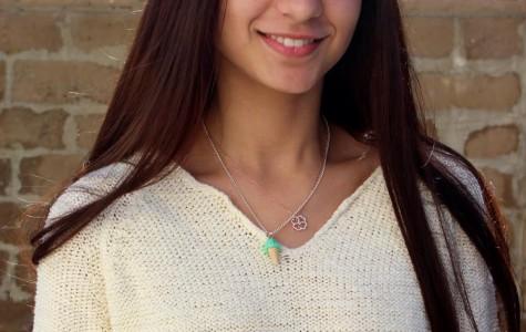 Mina Aziz creates delectable designs with her original jewelry company Mini Delights