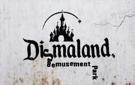 "Banksy's ""Dismaland"" mocks the classic Disney theme park"