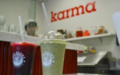 Head over to the new organic food store, Juice Karma, in the Gelson's Village to get a tasty yet healthy treat
