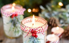 Create your own peppermint-scented candle with this easy-to-follow recipe