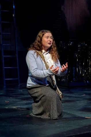 Julia Lester dominates the stage in Carrie: The Musical