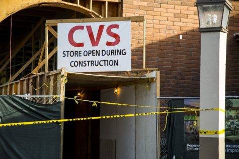 The El Camino Shopping Center undergoes reconstruction project
