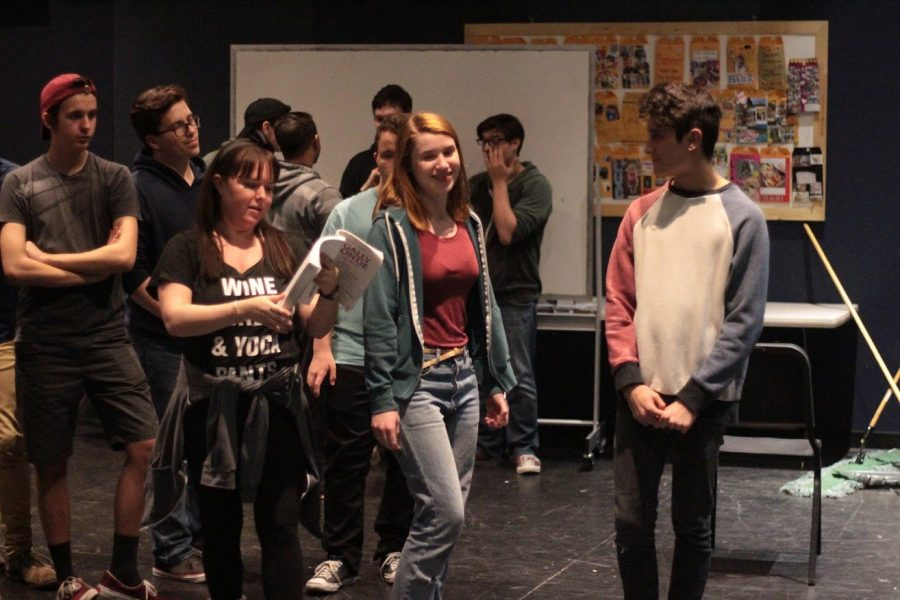 CHS prepares to debut Legally Blonde