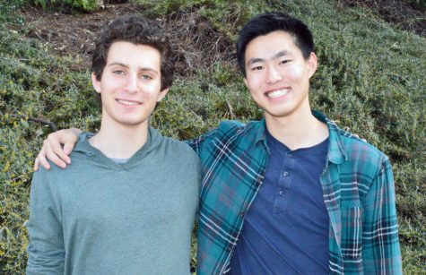 Seniors Daniel Schwartz and Harrison Wang are recognized for their academic achievement and considered for the Presidential Scholar Award