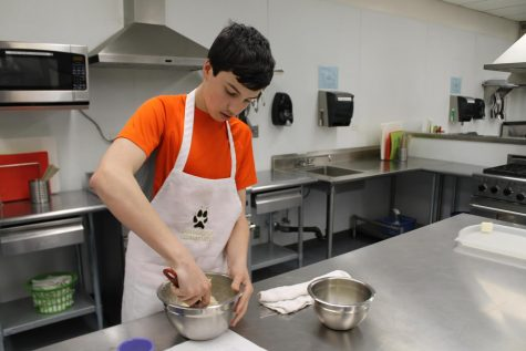 Sophomore Grayson Selzer 'cooks up' his future career by securing his place in the culinary world