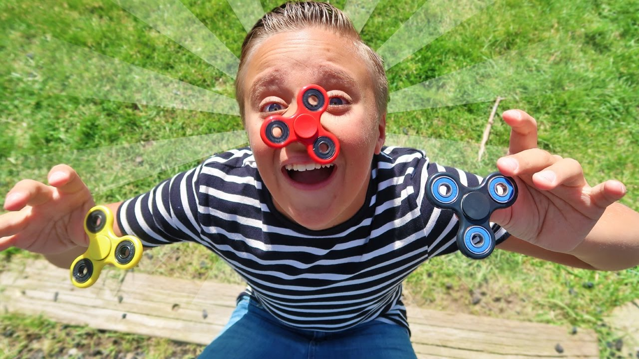 Fidget spinners entice children across the nation but are not used as intended
