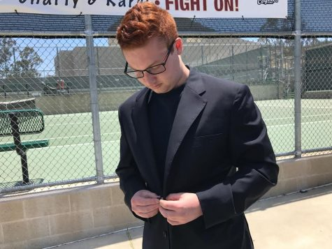 Jacob Turobiner prepares to lead Calabasas High as ASB President for the 2017-2018 year