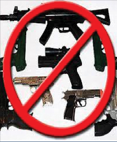 Shooting down loose gun control