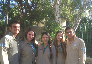 The Israeli Scouts of America help keep Israeli family values alive in everyday life