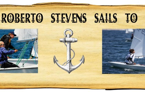 Sophomore Roberto Stevens sails to new heights
