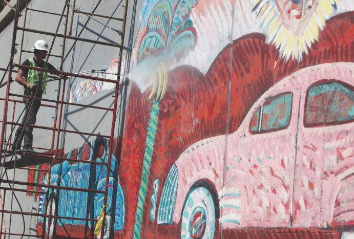 Mural+Conservancy+of+Los+Angeles+appropriates+funds+to+restore+artwork