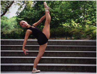 Sophomore Hailey Flame dances her way to the top