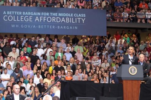 President Obama works to make college more affordable