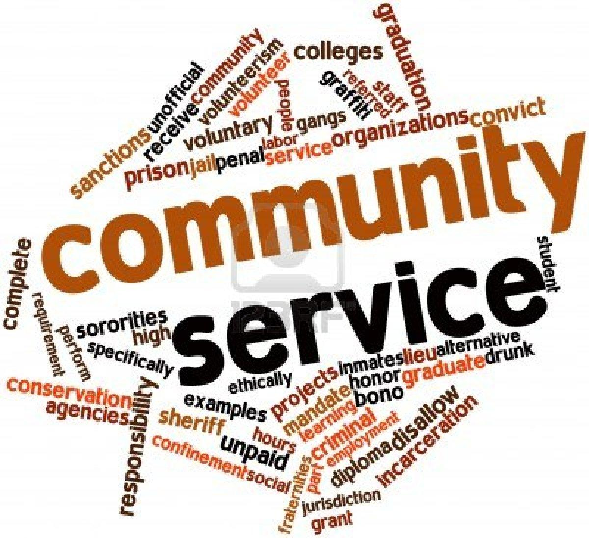 community service examples