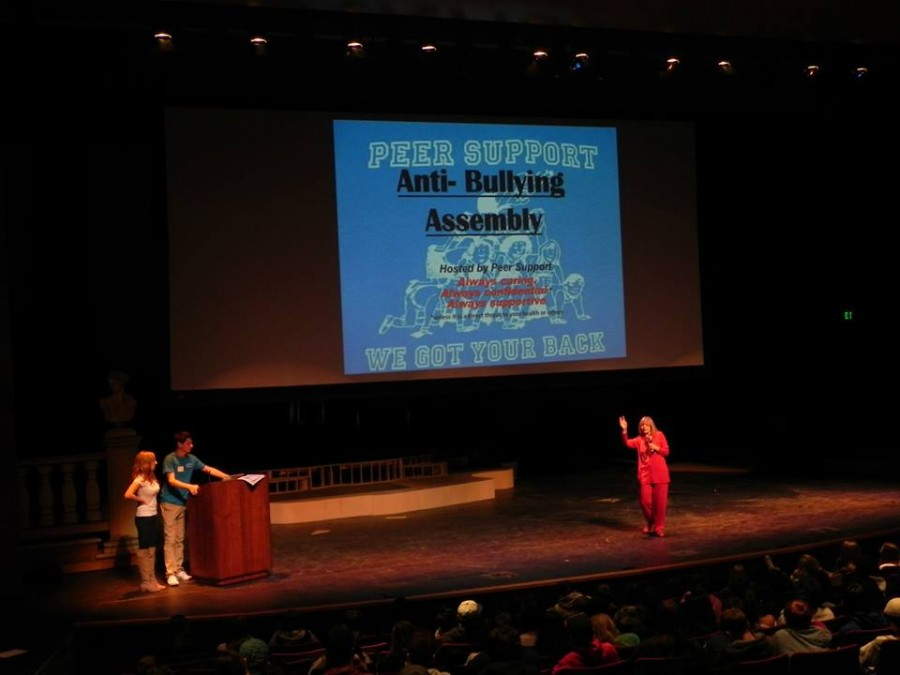 Peer Support holds anti-bullying assembly Oct. 30 in PAEC