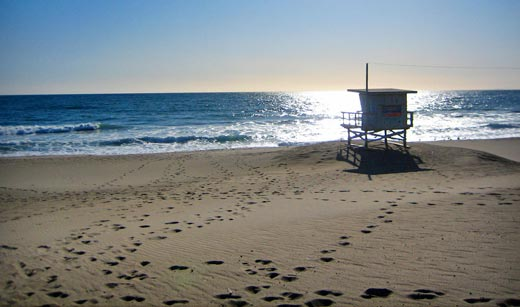 Winter in LA: Zuma Beach