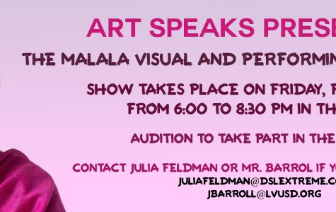 Malala Art Speaks Benefit