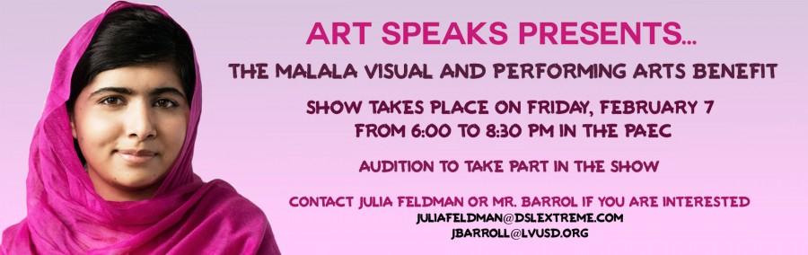 Malala+Art+Speaks+Benefit