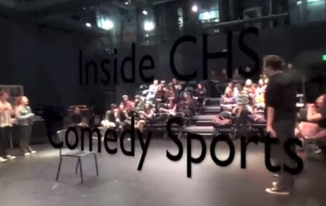 Behind the scenes of Comedy Sportz