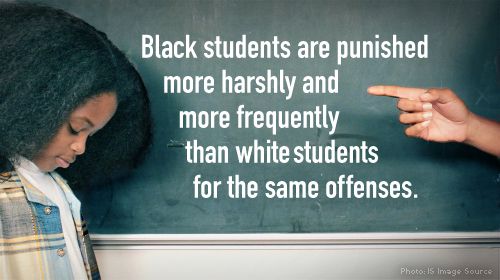 Federal officials work to end racial discrimination in school discipline and establish new guidelines