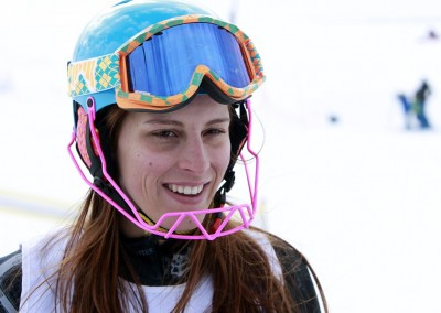 Professional skier Jackie Chamoun faces scandal for topless images