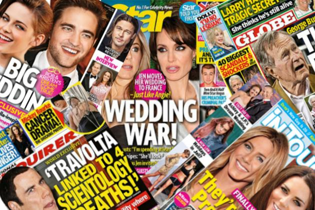 Tabloid media glorifies celebrities and neglects important real-world issues
