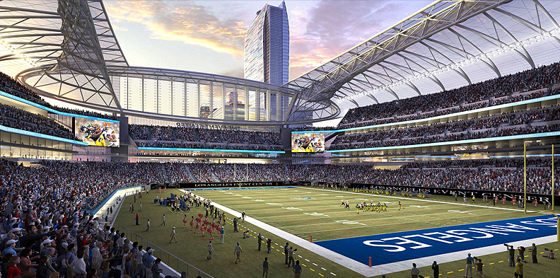 KISS funds new Los Angeles football arena