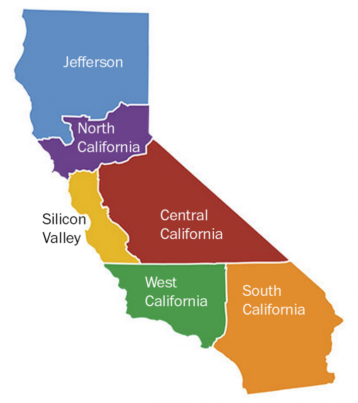 Venture capitalist proposes division of California