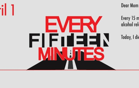 Students participate in the Every Fifteen Minutes program