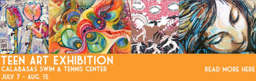 Calabasas Tennis and Swim Center presents the Teen Artist Exposition