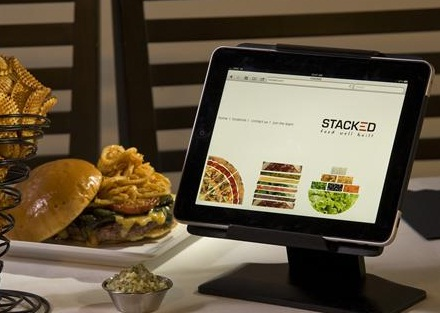 Stacked burger joint