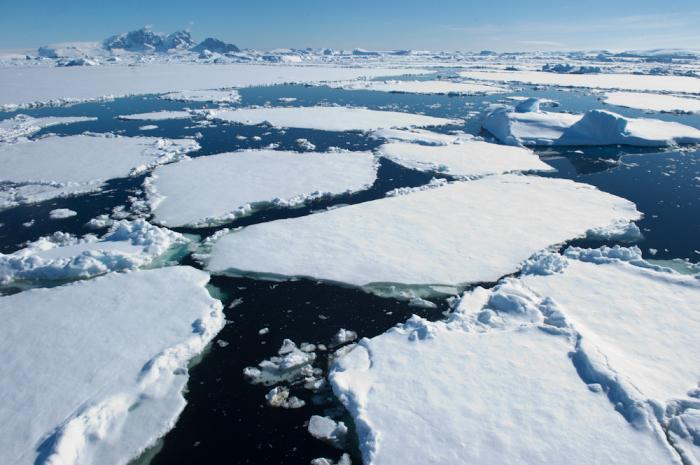 Melting Antarctic ice will raise global sea level