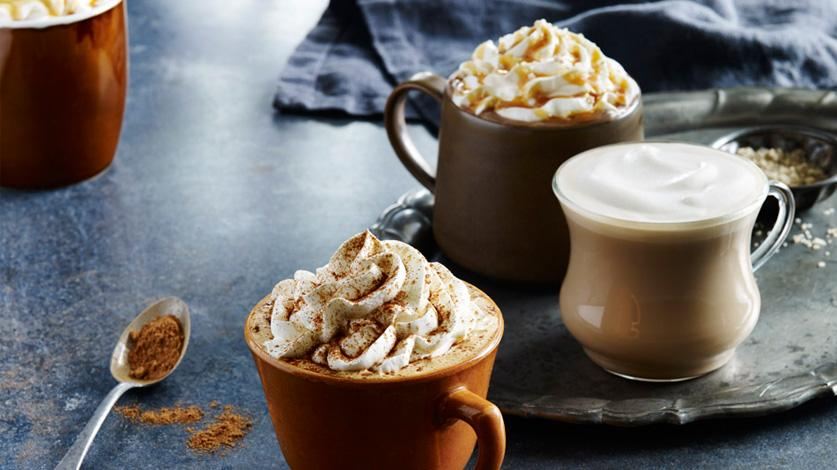 Try these jack-o-lantern flavored beverages to jumpstart your day