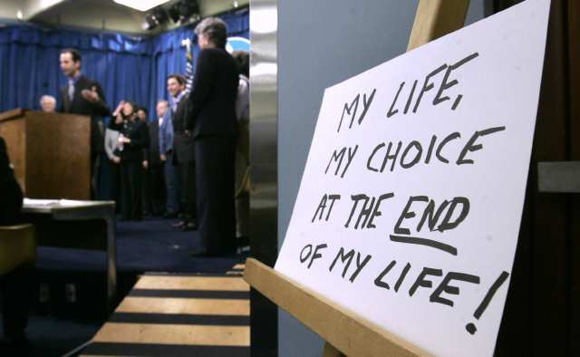 the right to choose physician assisted suicide