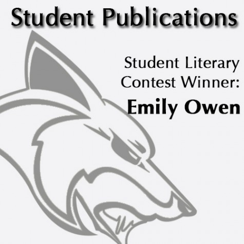 Student Literary Contest Winner: Alex Barry