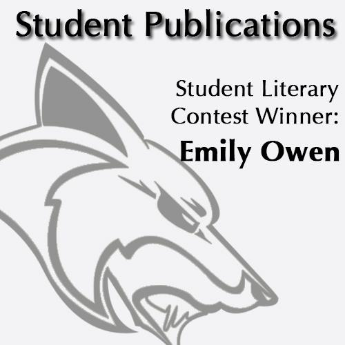 Student Literary Contest Winner: Emily Owen
