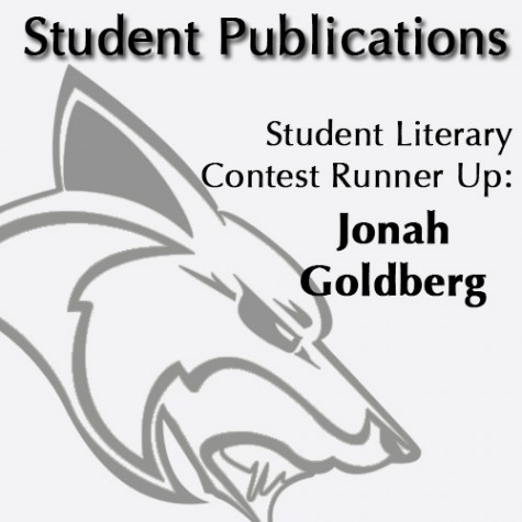 Student Literary Contest Runner Up: Jonah Goldberg