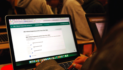 Google Classroom allows CHS teachers to expand teaching methods