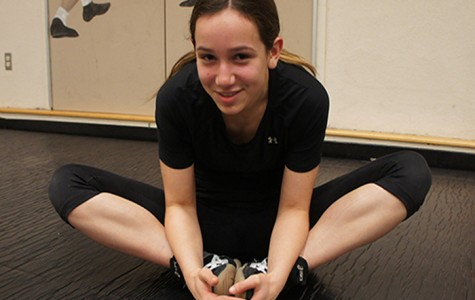 Freshman Claudia Zimmerman thrives as the only girl varsity wrestler