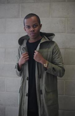 Meet junior clothing designer Roman Williams