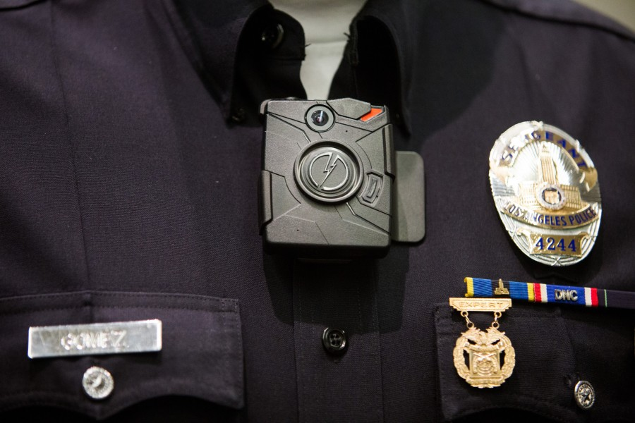 Local police officers must now wear cameras while on duty
